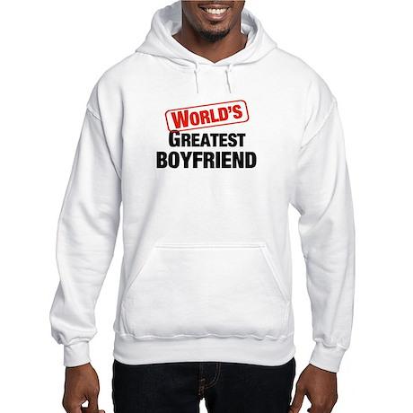 World's Greatest Boyfriend Hooded Sweatshirt