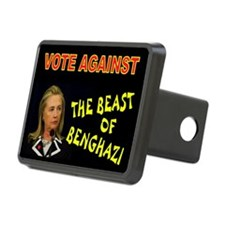 NO MORE HILLARY Hitch Cover