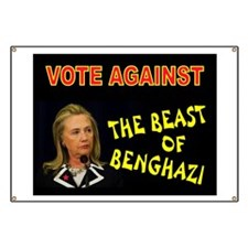 NO MORE HILLARY Banner