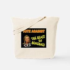 NO MORE HILLARY Tote Bag