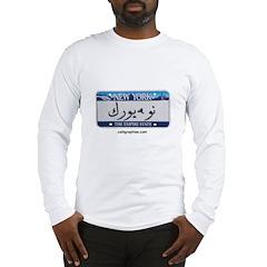 New York License Plate Long Sleeve T-Shirt