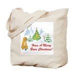 Christmas Boxer Tote Bag