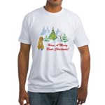 Christmas Boxer Fitted T-Shirt