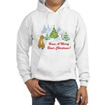 Christmas Boxer Hooded Sweatshirt