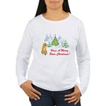 Christmas Boxer Women's Long Sleeve T-Shirt