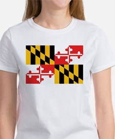 Maryland Flag Women's T-Shirt