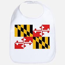 Maryland Flag Bib