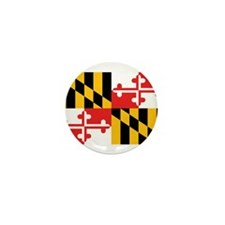 Maryland Flag Mini Button (100 pack)