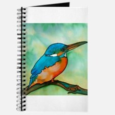 Unique Kingfisher Journal