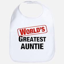 World's Greatest Auntie Bib