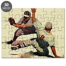 Vintage Sports Baseball Puzzle
