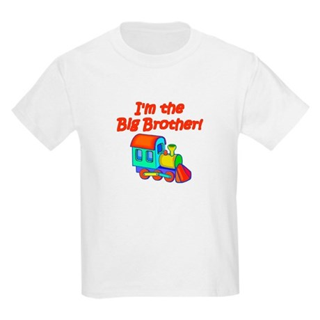 Red Train Engine Big Brother Toddler Tee T-Shirt