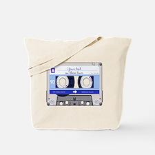 Cassette Tape - Blue Tote Bag