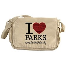 I Heart Parks Messenger Bag