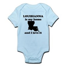 Louisiana Is My Home And I Love It Body Suit