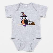 Cute Halloween owl Baby Bodysuit