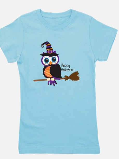 Funny Owl Girl's Tee