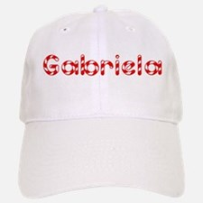 Gabriela - Candy Cane Baseball Baseball Cap