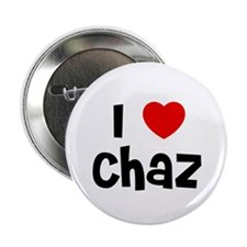 """I * Chaz 2.25"""" Button (10 pack)"""