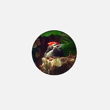 pileated woodpecker Mini Button