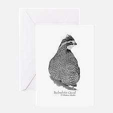 Bobwhite Quail Greeting Card