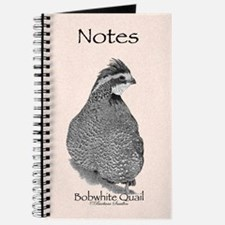 Bobwhite Quail Notes Journal