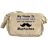 Mustache Messenger Bag