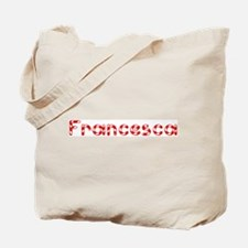 Francesca - Candy Cane Tote Bag