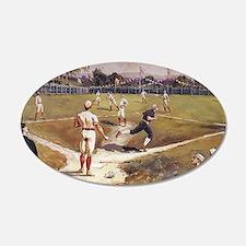Vintage Sports Baseball Wall Decal Sticker