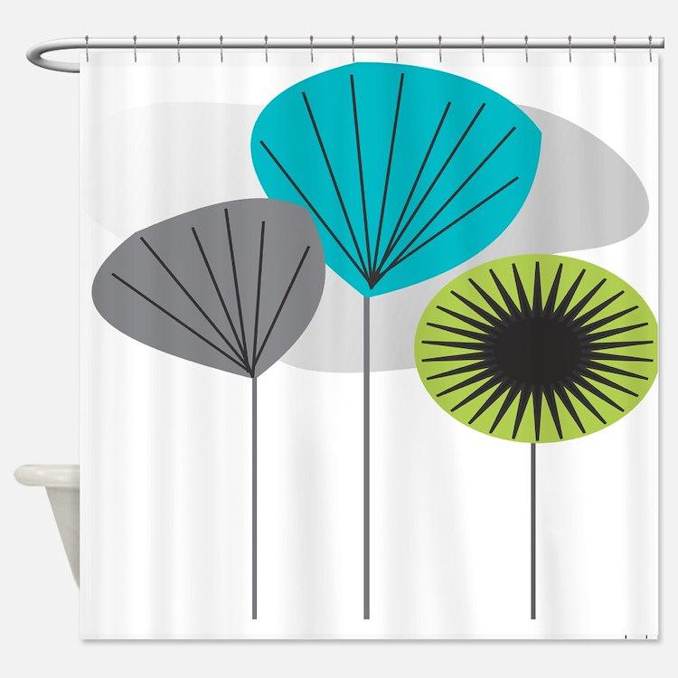 MCM 5 canvas Shower Curtain