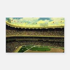 Vintage Sports Baseball Rectangle Car Magnet