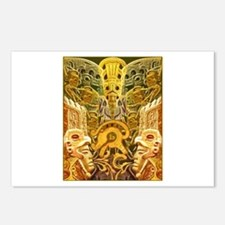 Tribal Gold Postcards (Package of 8)