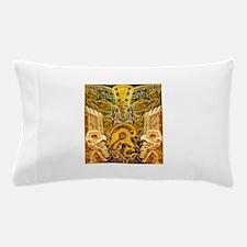 Tribal Gold Pillow Case