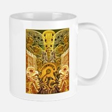 Tribal Gold Mug