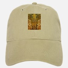 Tribal Gold Baseball Baseball Cap