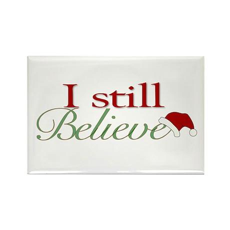 I Still Believe (Santa Claus) Rectangle Magnet