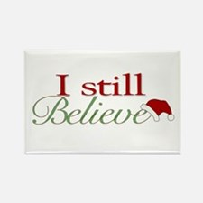 I Still Believe (Santa Claus) Rectangle Magnet