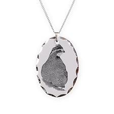 Bobwhite Quail Necklace