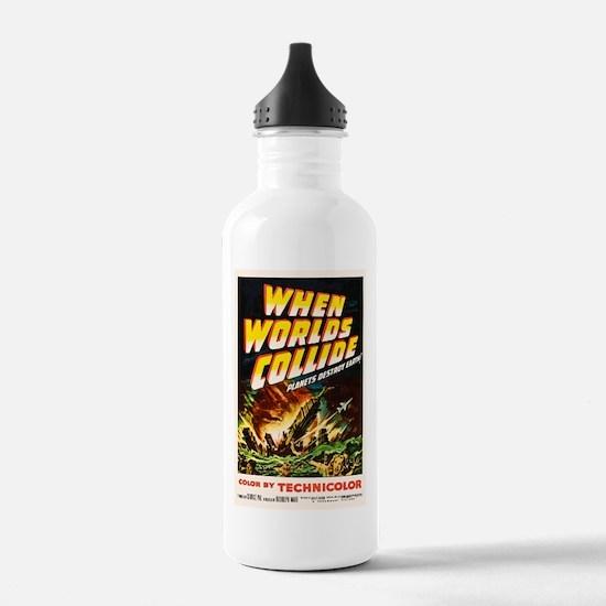 when_worlds_collide-2 Water Bottle
