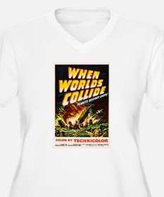 when_worlds_collide-2 Plus Size T-Shirt