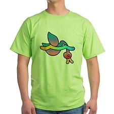 Rainbow Duckie Diving T-Shirt