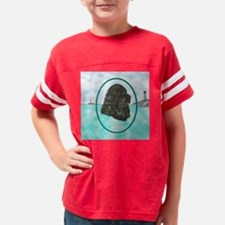Newfoundland Artwork Ocean Mo Youth Football Shirt