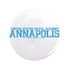 """USNAannapolis.png 3.5"""" Button (100 pack)"""