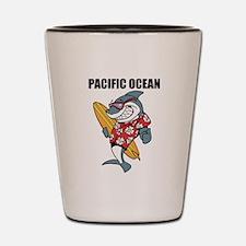 Pacific Ocean Shot Glass