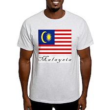 Malaysia Ash Grey T-Shirt