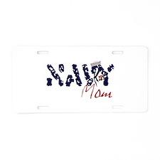 navymom.jpg Aluminum License Plate