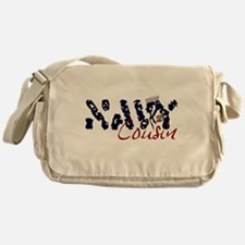 navycousin.jpg Messenger Bag