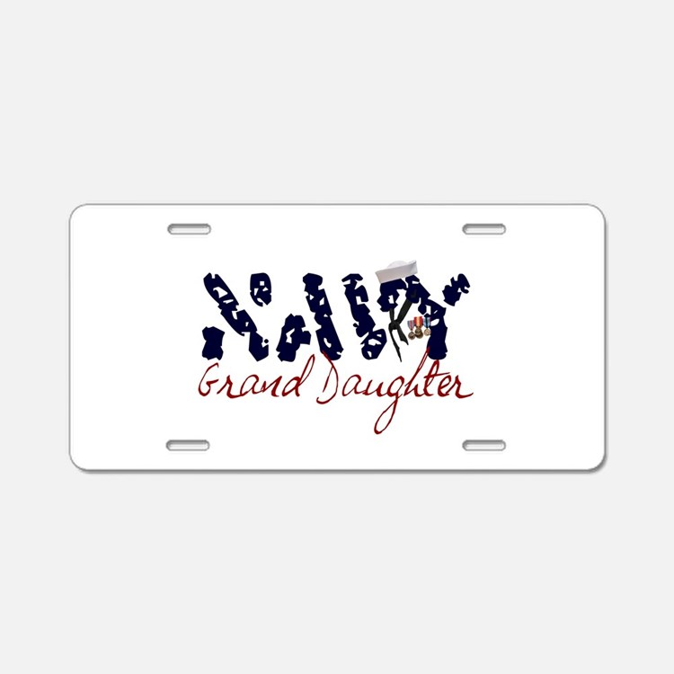 navygranddaughter.jpg Aluminum License Plate