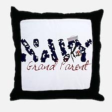 navygrandparent.jpg Throw Pillow