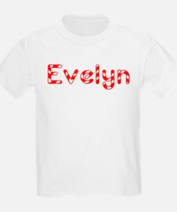 Evelyn - Candy Cane Kids T-Shirt